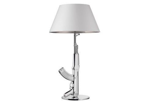 FLOS - LAMPE TABLE GUN - Argent Chromé