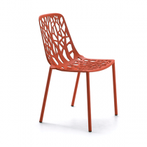 forest-chaise-rouge-corail
