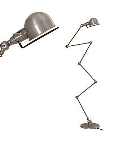JIELDE - LAMPE LOFT 6 BRAS - Acier brossé