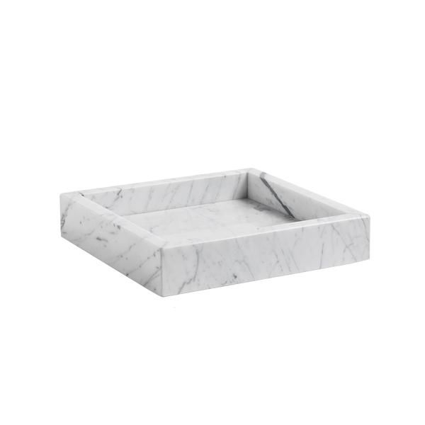 PLATEAU MARBLE TRAY S HAY