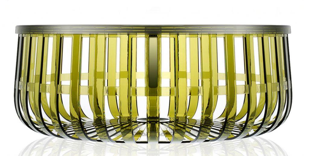 Table basse panier kartell for Table basse panier