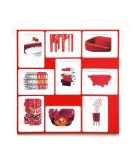 PRESSE CITRON - PELE MELE M9 - Rouge & blanc