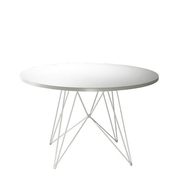 tavolo xz3 ronde- pied blanc_1