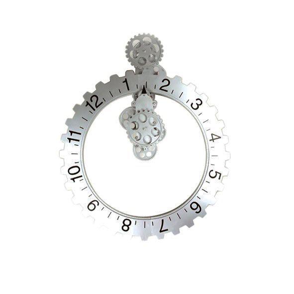 IV040- horloge à engrenage_ alu--