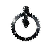 IV040- horloge à engrenage_ noire