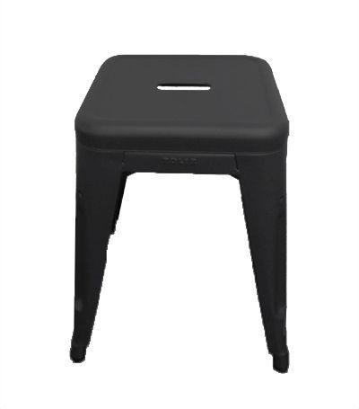 Tabouret H45_graphite Noir ral9005_ copie