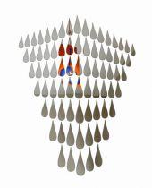 ROBBA EDITION - MIROIR ICED TEARS - H143 L97CM