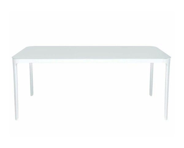 MAGIS - TABLE VANITY A RALLONGES 160-220*90 - Verni blanc