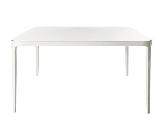 MAGIS - TABLE VANITY CARRE 90*90 - Verni blanc