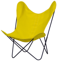 FAUTEUIL BUTTERFLY AA NEW DESIGN BOUTON DOR