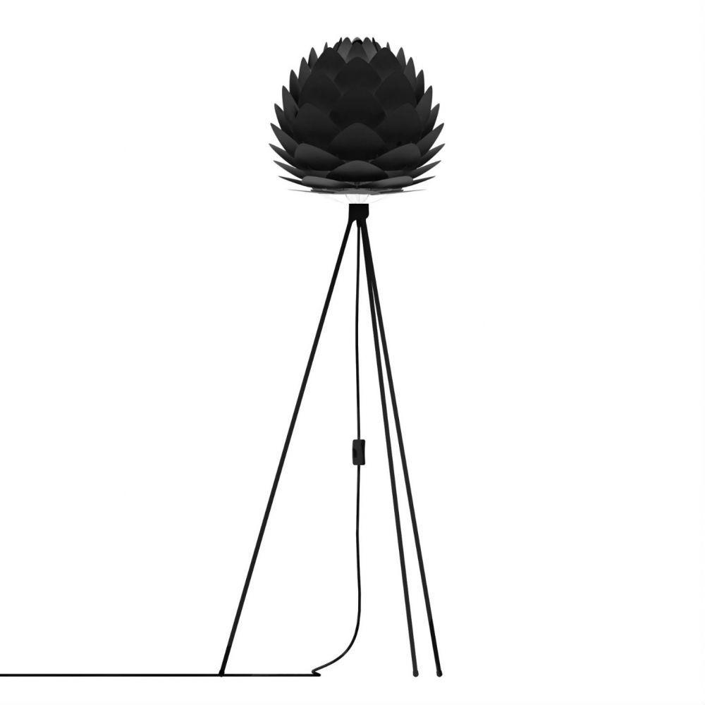 Lampadaire-Vita-SILVIA-Lampadaire-abat-jour-Noir-O34cm-trepied-noir-109cm-14908-591