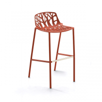 forest-tabouret-dossier-bas-rouge-corail