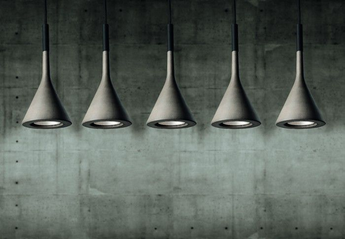 FOSCARINI - SUSPENSION APLOMB - Gris