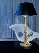 FLOS - LAMPE TABLE GUN - Or