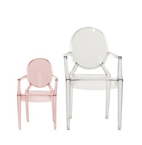 KARTELL - FAUTEUIL LOULOU GHOST CRISTAL
