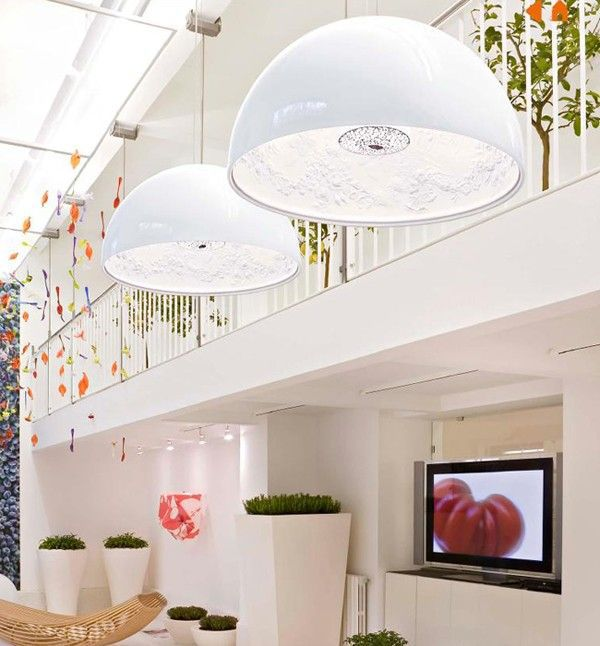 FLOS - SUSPENSION SKYGARDEN 2 - Blanc
