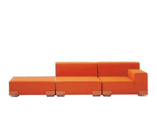 KARTELL - SOFA PLASTICS ORANGE - Fauteuil