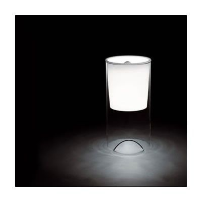 FLOS - LAMPE DE TABLE AOY - Transparent + opaline