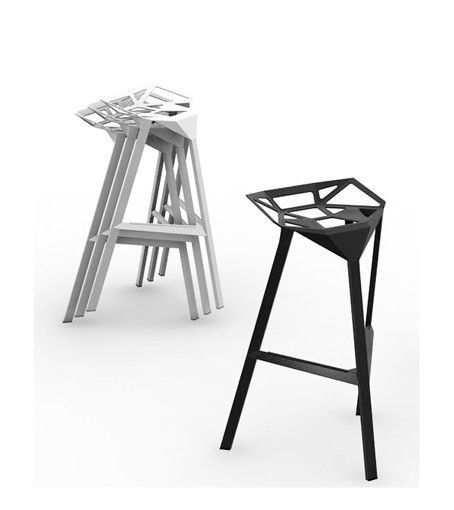 MAGIS - TABOURET DE BAR STOOL ONE - Rouge