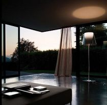 FLOS - LAMPADAIRE KTRIBE F2 - Argent