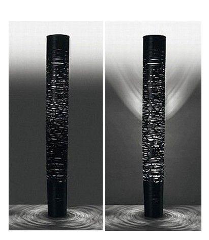 FOSCARINI - LAMPADAIRE TRESS GRANDE - Noir