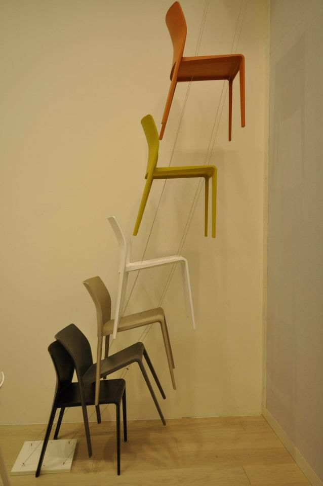 chaise Juno, Arper- salon 2013 par laurent