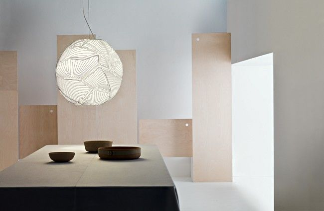FOSCARINI - SUSPENSION PLANET GRANDE - Blanc blanc