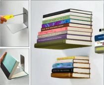 UMBRA -  MADE IN - ETAGERE LIVRES INVISIBLES PM