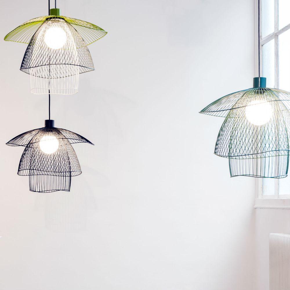suspension papillon small forestier. Black Bedroom Furniture Sets. Home Design Ideas