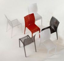 KARTELL - CHAISE AMI AMI - Cristal