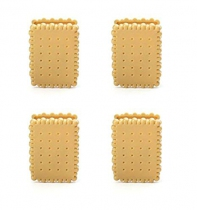 4 Pinces alimentaires Biscuits - Kikkerland