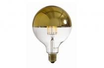 Ampoule Gold Filaments E27 2300K
