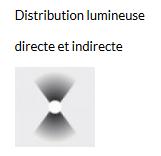 APPLIQUE APLOMB LED - Gris