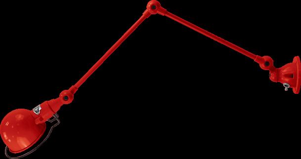 APPLIQUE JIELDE SIGNAL 2 BRAS 30 - Avec interupteur