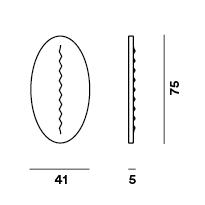 Applique Plafonnier Superficie - Foscarini
