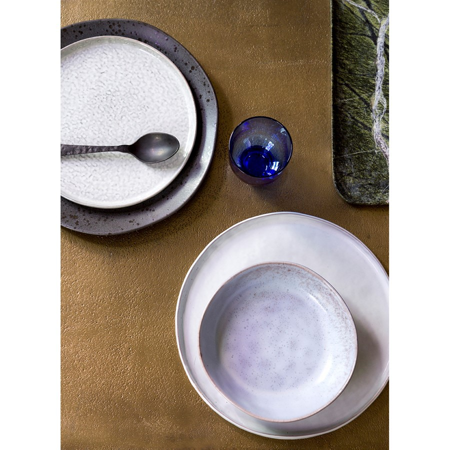 Assiette Bold & basic - Gris - Hk Living