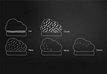 Baromètre nuage