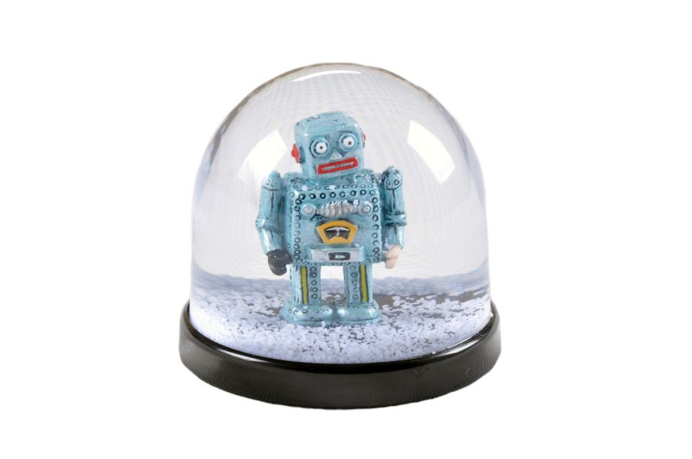 Boule à neige Robot - Fisura