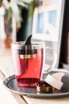 Boule à thé Orcy noire - Donkey