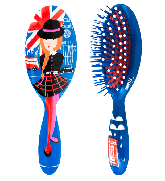 BROSSE A CHEVEUX PM - Owl