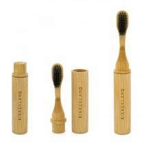 Brosse à dents voyage bambou - Kikkerland