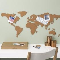 Carte du monde - pays en liège - Luckies