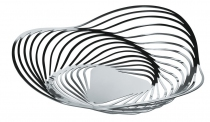 CENTRE DE TABLE TRINITY GM - Chrome