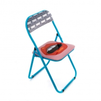 Chaise pliante Mouth - Seletti