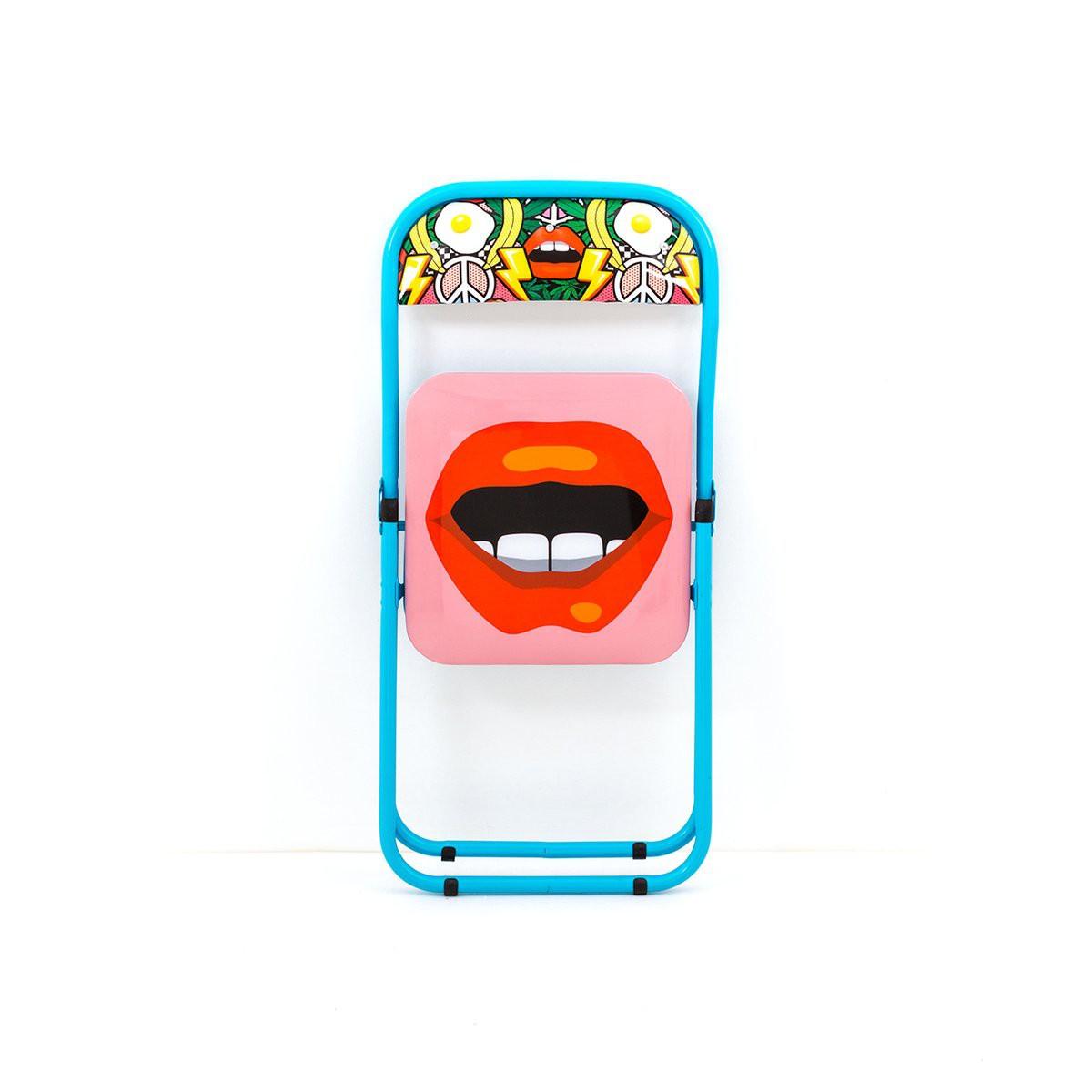 Chaise pliante Mouth - Seletti