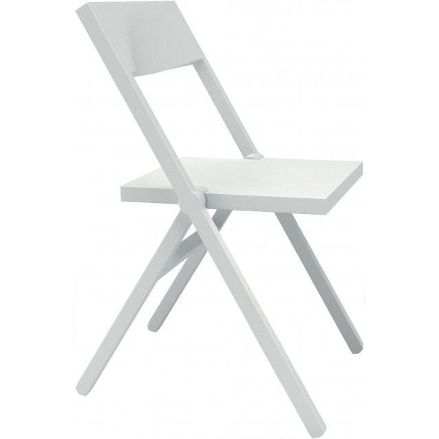 Chaise pliante Piana - Alessi - Blanche