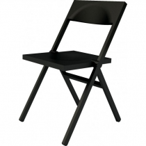 Chaise pliante Piana - Alessi - Noir