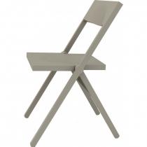 Chaise pliante Piana - Alessi - Gris