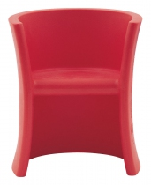 CHAISE TRIOLI - Rouge