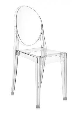 chaise victoria ghost kartell transparente. Black Bedroom Furniture Sets. Home Design Ideas